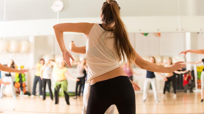 Fitness Class Zumba Dance