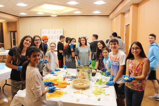 Cooking for Families in Need