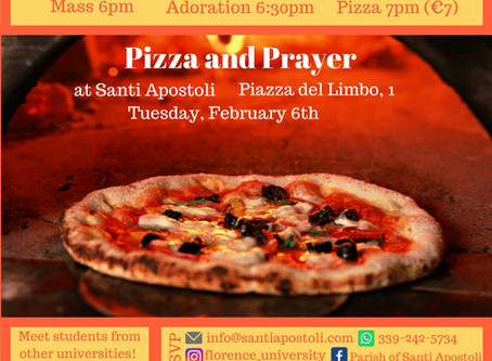 University Students join us this Tuesday!