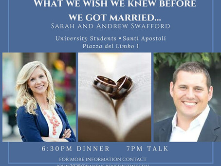 University Students: Don't Miss Testimonial from Sarah and Andrew Swafford