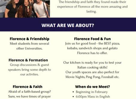University Student Activities starting in February