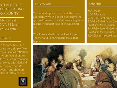 Lenten Retreat for Adults