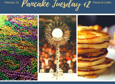 University Students: Pancake Tuesday