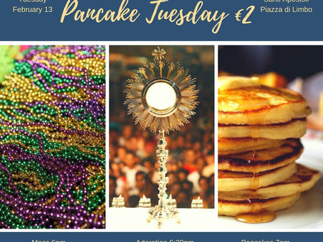 University Students: Pancake Tuesday