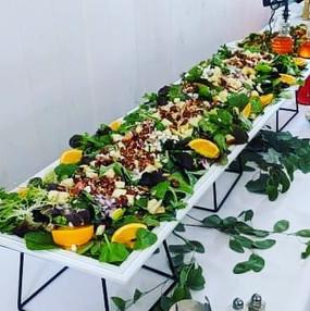 Apple and Feta Salad with Orange Vinaigr