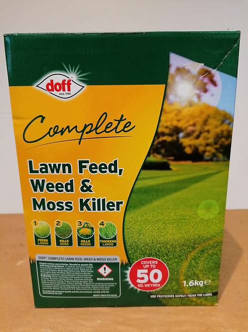 Doff Complete Lawn Feed, Weed & Moss Killer
