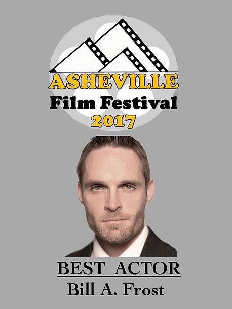 Award Winning Actor Bill Frost, Jacksonville, NC