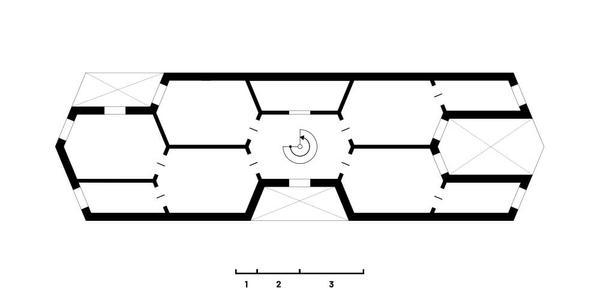 Struktur Obergeschoß