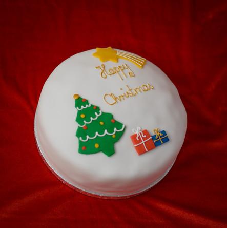 Personalised Orange-Soaked Christmas Cake