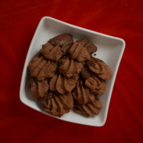 Bärentazen Cookies (Chocolate Bear Paws)
