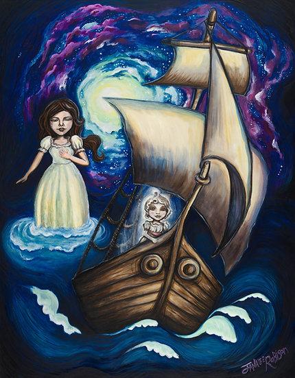 Um dich nach Hause zu segeln