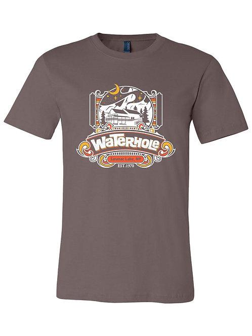 Waterhole - T-shirt (Brown ish)