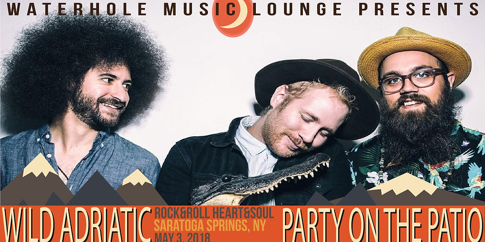 Wild Adriatic at Party on the Patio