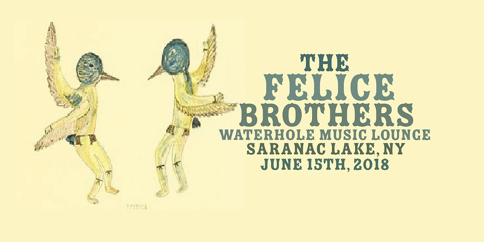 The Felice Brothers wsg. Folkfaces & The Old Main