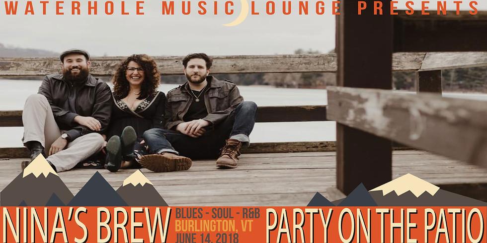 Nina's Brew - Party on the Patio