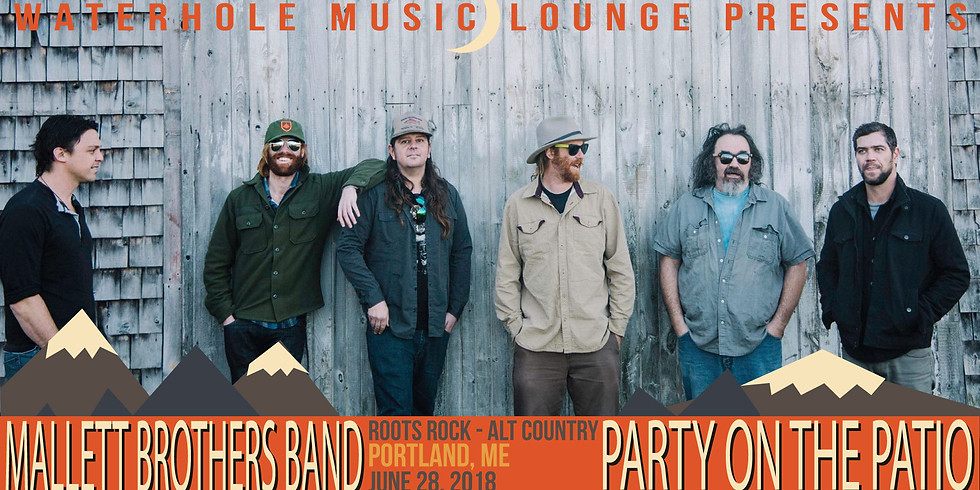 The Mallett Brothers Band - Party on the Patio