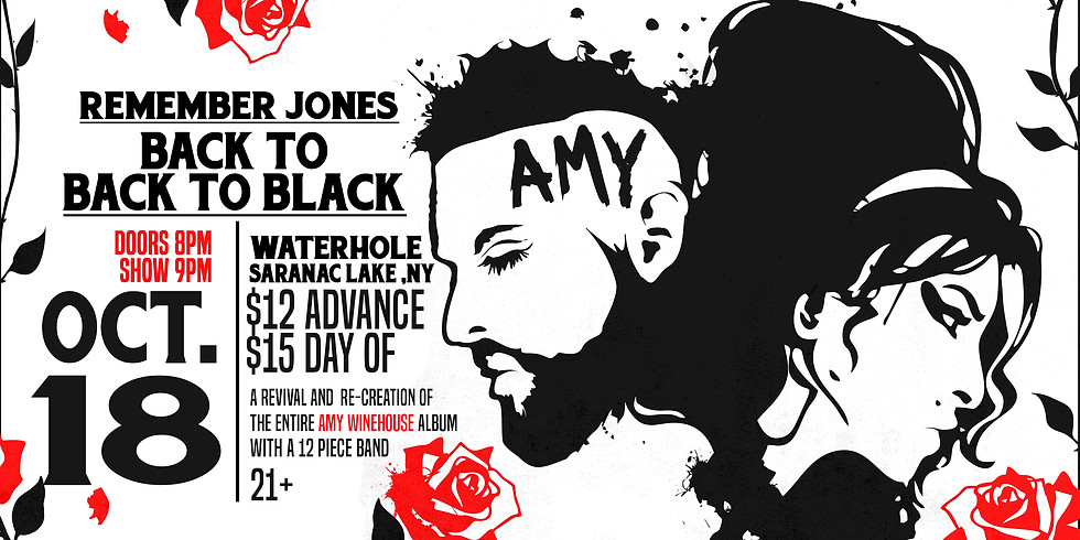 Remember Jones Presents Back to Black Tribute to Amy Winehouse