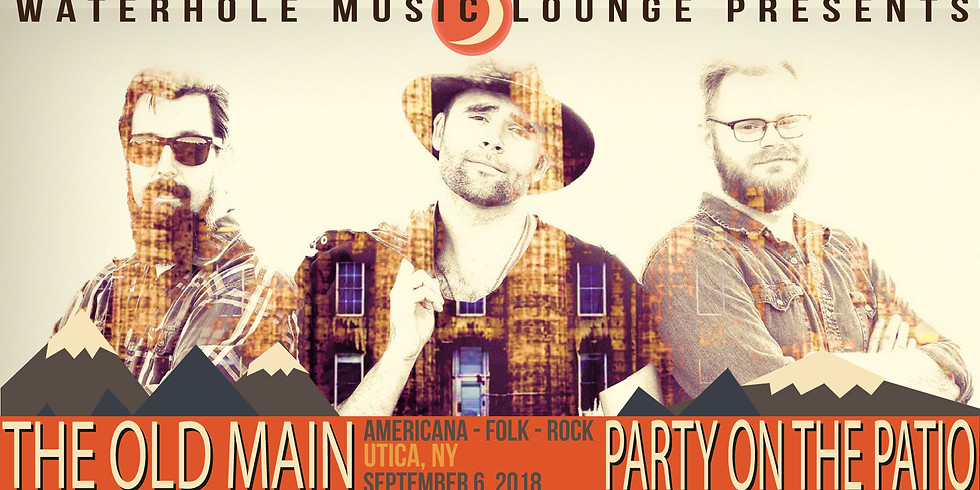 The Old Main at Party on the Patio at Waterhole Music Lounge