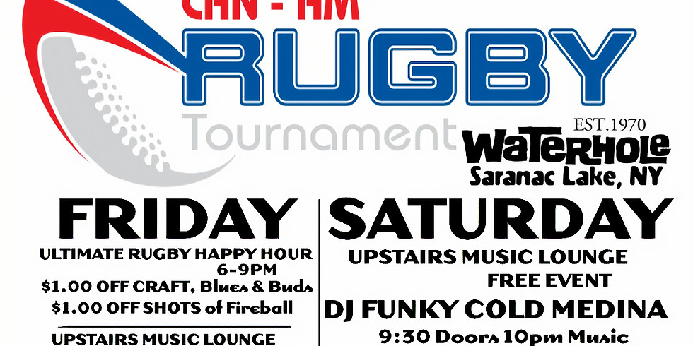 DJ Funky Cold Medina - Rugby Weekend Party