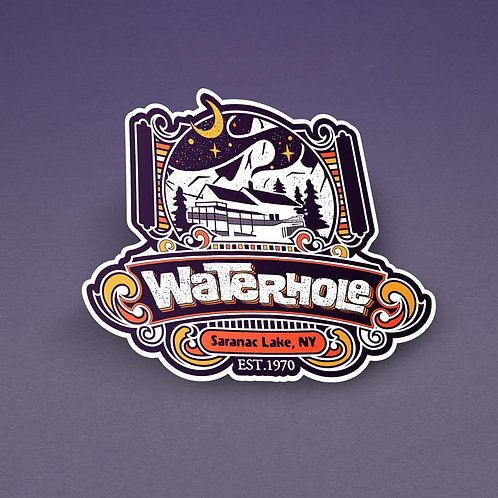 Waterhole Sticker