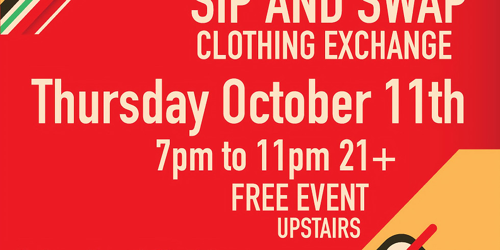 Fall Sip and Swap Clothing Exchange