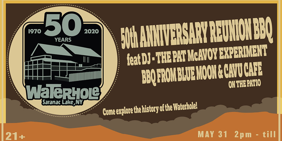 POSTPONED - Waterhole 50th Anniversary Reunion BBQ