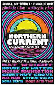 Northern Current lineup poster
