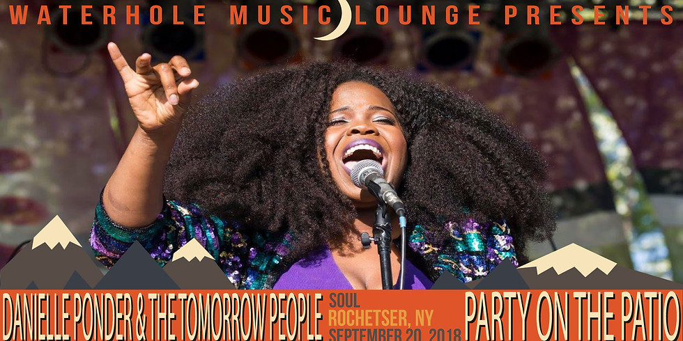Danielle Ponder and the Tomorrow People - Party on the Patio