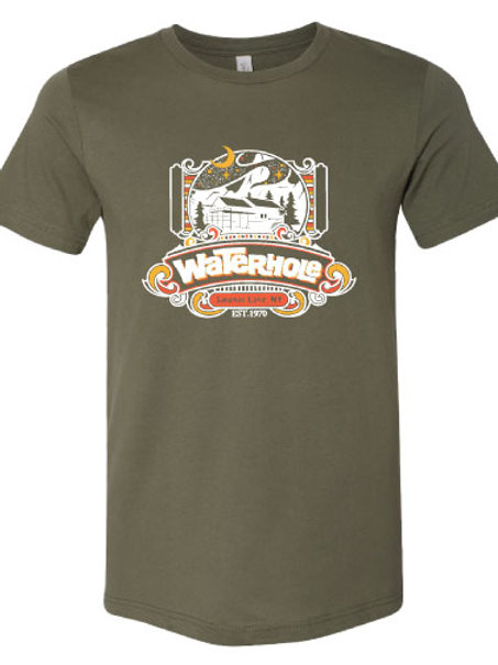 Waterhole - T-shirt (Green)