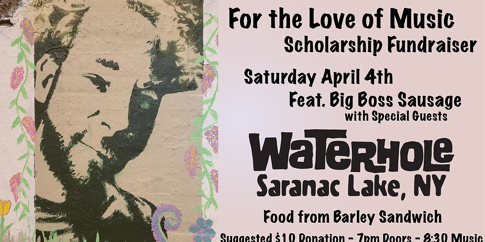 CANCELED - For the Love of Music Scholarship Fundraiser - Waterhole Music Lounge