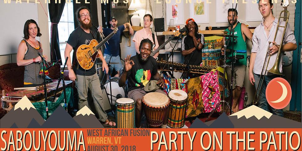 Sabouyouma - Party on the Patio