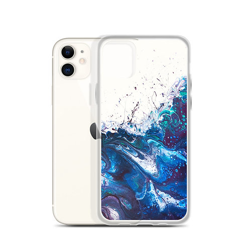 iPhone Case Peacock Wave
