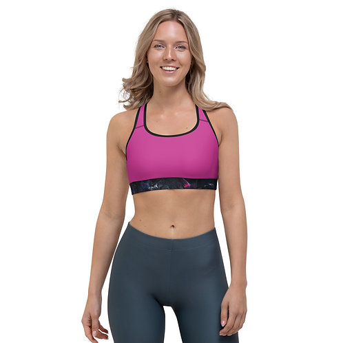Elements - cosmos -Sports Bra