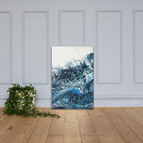 Canvas Wrapped Print - Ocean Wave