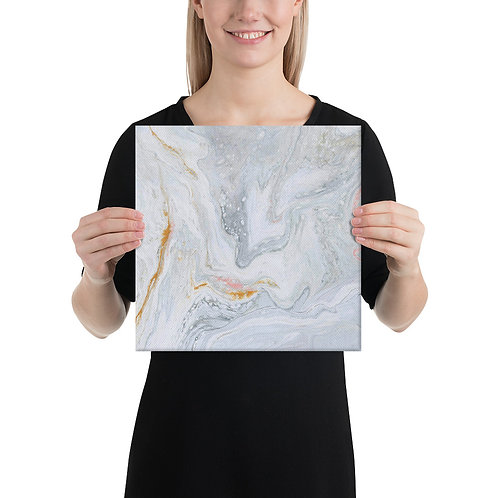 Canvas Wrapped Print - marble