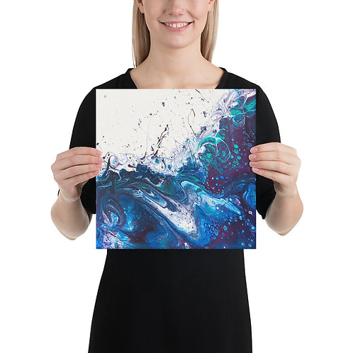 Canvas Wrapped Print - Peacock
