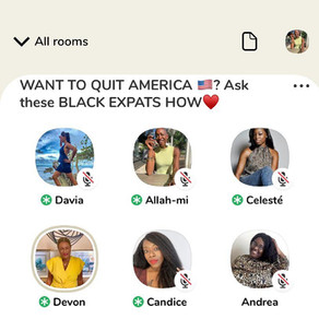 Black Expat Relocation Q&A Available via Clubhouse
