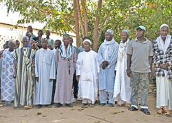 Village leaders, Quebo Guinea Bissau W Africa
