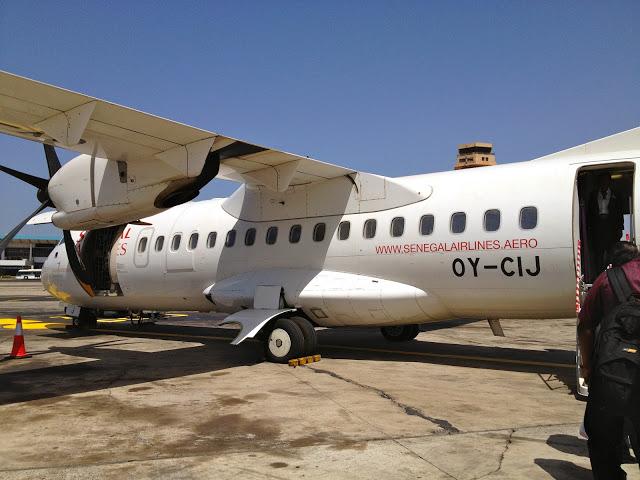 Airort Bissau, Guinea Bissau W Africa