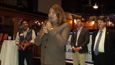 Elizabeth Guzman, running for State Delegate from the 31st District