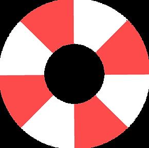 Red Life Saver