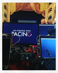 Una noche con Al Pacino