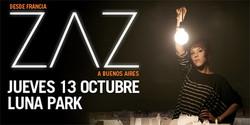 Zaz en el Luna Park