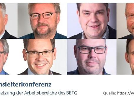 BEFG - Vorstellung unserer Studie auf der Bereichsleiterkonferenz im Mai 2019