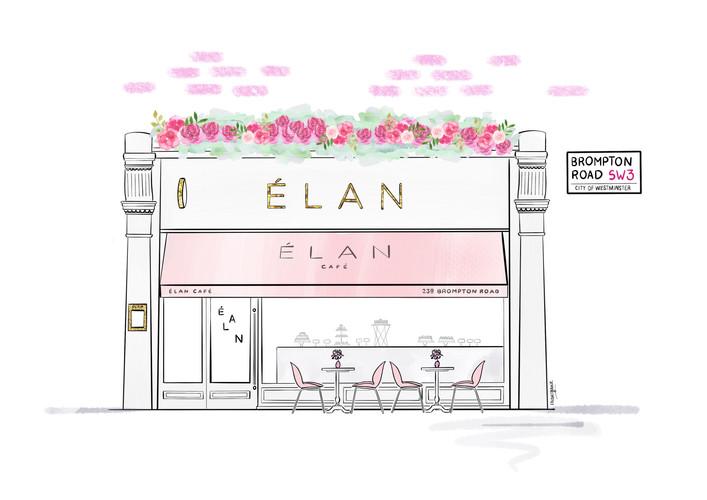 Elan Cafe Brompton Road