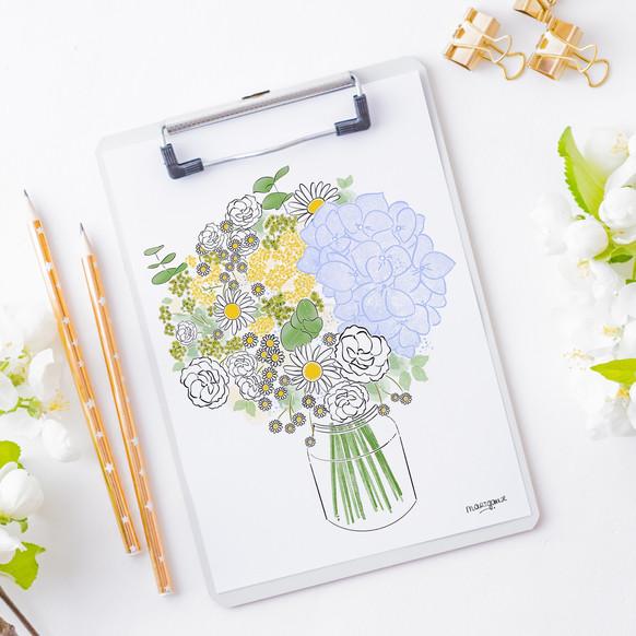 Bouquet Cinque Terre by Bergamotte