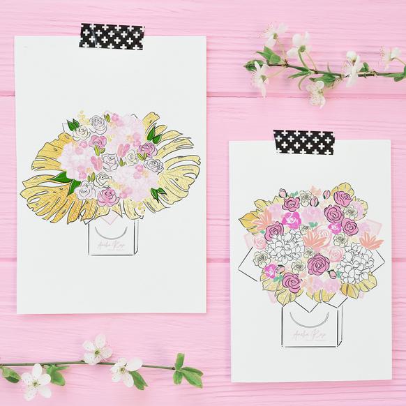 Amelia Rose Floral Couture Bouquets