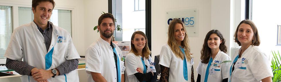OPH95 - L'équipe des Orthoptistes