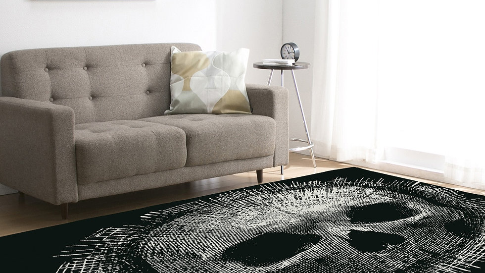 Personalized Skeleton Water Absorbing Carpet