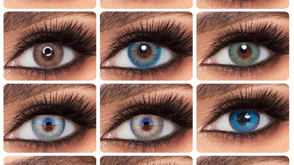 EYESHARE 2pcs/Pair 2020 New Coloured Contact Lens